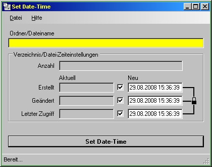 setdatetime program